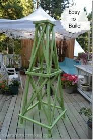 Obelisk Trellis Metal Garden Obelisk Trellis Foter