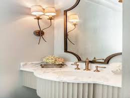 French Powder Room Bathroom Powder Room Sconces French Powder Room With Brass