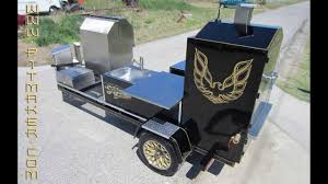 Custom Backyard Bbq Grills by Custom Bbq Trailers Made In 2013 Happy New Year Youtube