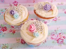 cupcake the right shape shabby chic princess birthday at home