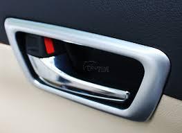 toyota camry interior door handle 4pcs set car interior door handle bowl cover trim for european