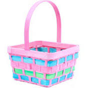 basket easter easter baskets for kids plush baskets plastic buckets party city
