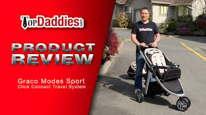 graco modes sport travel system review youtube