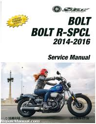 2014 2016 yamaha xvs95c bolt motorcycle service manual