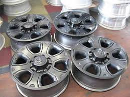 dodge ram with black rims dodge ram wheels black 20 ebay
