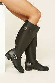 tall leather boots august womens equestrian boots size 12 140
