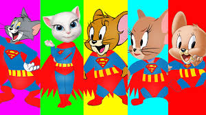 tom jerry transform superman tom jerry venom