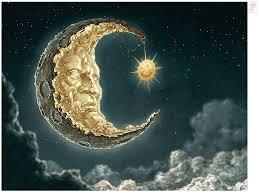 moon and sun by papierpilot on deviantart