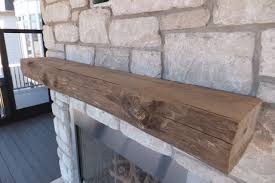 how to install a wood fireplace mantel mantle wunderwoods
