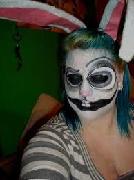 Extreme Halloween Costumes Halloween Makeup Creepy Bunny Rabbit Face Paint Beauty Extreme