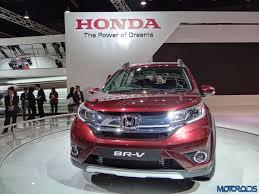 mobil honda brv auto expo 2016 seven seater honda br v compact crossover comes