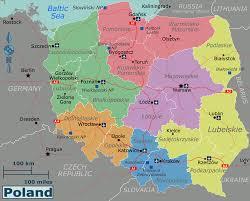 Map Poland Large Regions Map Of Poland Poland Europe Mapsland Maps Of