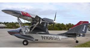 hibious light sport aircraft searey light sport elite amphibious plane ready for take off