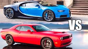 hellcat demon engine 840hp dodge demon vs 1500hp bugatti chiron world u0027s fastest car