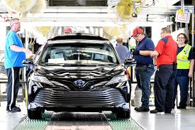 toyota motor 2018 toyota camry production begins in kentucky the drive
