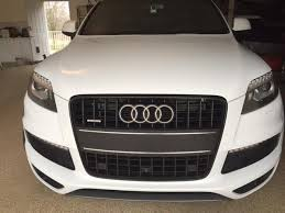 audi q7 front license plate bracket need a filler with a license plate holder audiworld forums