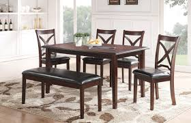 milo 6 pc dining set espresso orange county ca daniel u0027s home