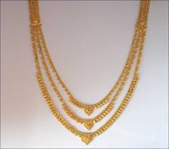 chain pendant necklace images Gold necklace and earrings set 22kt indian jewelry with gold jpg