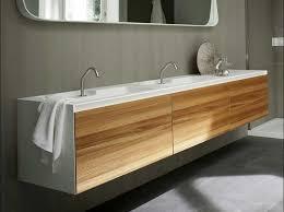 badezimmer unterschrank hängend corian waschtisch mit unterschrank in natur elm und weiß dekor