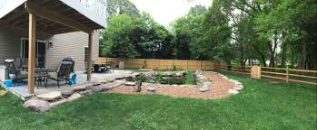 a backyard idea set in severn md premier ponds dc md va