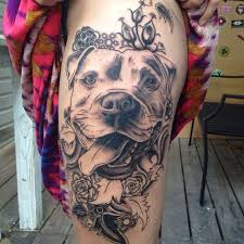 20 best pit bull tattoo designs inside dogs world