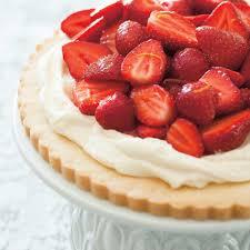 cuisine mascarpone strawberry and mascarpone cookie pie ricardo