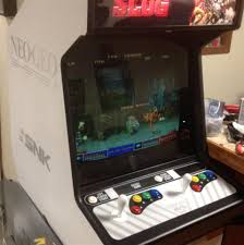 Neo Geo Arcade Cabinet White Neo Geo Neo Geo Arcade Cabinet Collected In Arcade Games
