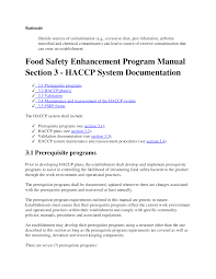 haccp plan template docs175369181 monitoring certificate template