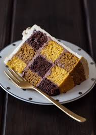 chocolate stout and pumpkin checkerboard cake u2014 style sweet ca