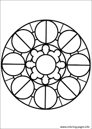 easy simple mandala 80 coloring pages printable