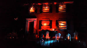 Halloween Lighting South St Louis Halloween Light Show Haunted House Youtube