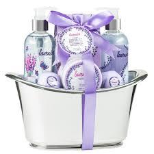 lavender gift basket lavender large aromatherapy bath and spa gift set freida joe