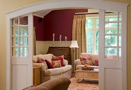Interior Arched Doors For Sale Pocket Doors With Glass Family Room Traditional With Arched Door