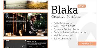 personal portfolio template blaka u2022 creative personal portfolio template free download