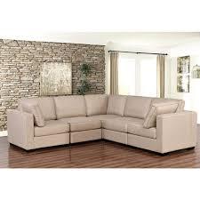 Modular Sectional Sofa Pieces Abbyson Harper Fabric Modular 5 Piece Sectional Free Shipping