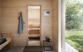 talo outdoor sauna swathed in natural surroundings