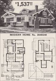 craftsman floor plans the kilbourne 1923 sears roebuck modern homes a steeper than usual