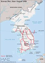 pusan on map the korean war barbarism unleashed peace history