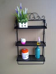 Glass Corner Shelves For Bathroom by Bathroom Wall Organizer Toilet Shelf Over Toilet Shelf Glass