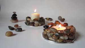 create earthy candle holders diy guidecentral