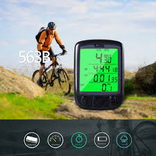 sd 563b waterproof lcd display cycling bike bicycle computer
