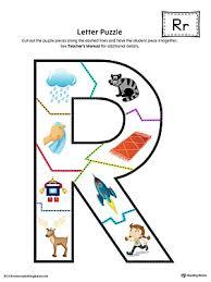 letter r puzzle printable color myteachingstation com