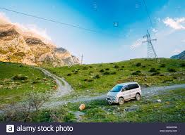 mitsubishi delica off road darial gorge georgia may 21 2016 mitsubishi delica space gear