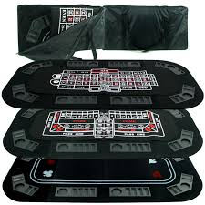 folding poker tables for sale 3 in 1 poker craps roulette folding table top cover chip racks