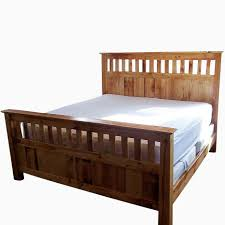 Reclaimed Wood Double Bed Frame Mission Style Bed Frame Queen Home Beds Decoration