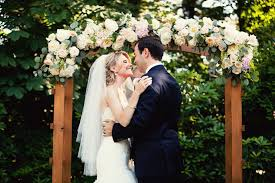wedding ceremonies outdoor wedding ceremonies blush floral design