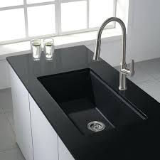 white sink black countertop granite countertops with undermount sinks webvsweb com