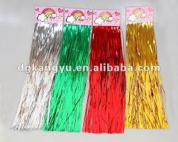 selling and promotional shiny tinsel garland wire