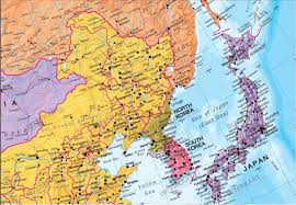 Korea Map Asia by Political Asia Wall Map Asia Asia Wall Maps