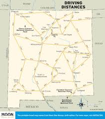 Highway Map Of Arizona by Printable Travel Maps Of New Mexico Moon Travel Guides